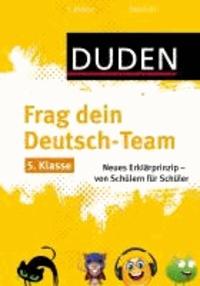Frag dein Deutsch-Team 5. Klasse - Neues Erklärprinzip - von Schülern für Schüler.