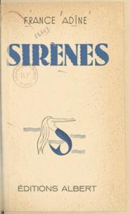 France Adine - Sirènes.