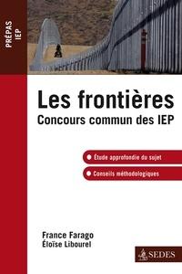 France Farago et Eloïse Libourel - Les frontières - Concours commun IEP.
