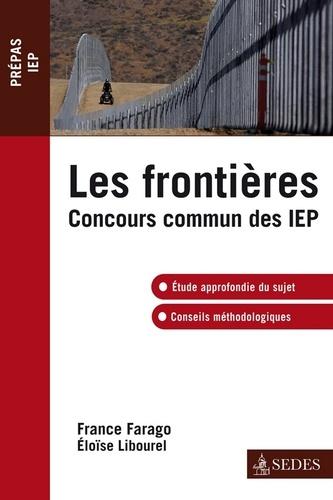 Les frontières. Concours commun IEP
