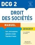France Guiramand et Alain Héraud - DCG 2 - Droit des sociétés 2018/2019 - Manuel.