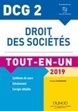 France Guiramand - DCG 2 - Droit des sociétés 2019 - Tout-en-Un.