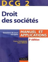 France Guiramand et Alain Héraud - DCG 2 Droit des sociétés.