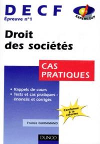 Openwetlab.it DECF épreuve n° 1 Droit des sociétés. Cas pratiques Image
