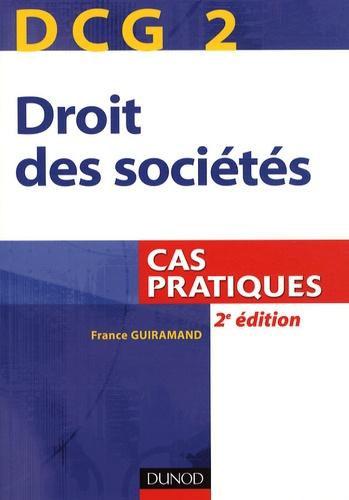 France Guiramand - Droit des sociétés DCG 2 - Cas pratiques.