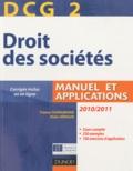 France Guiramand et Alain Héraud - Droit des sociétés DCG 2 - Manuel et applications.