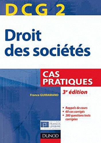 Cas Pratique Droit Des Sociétés
