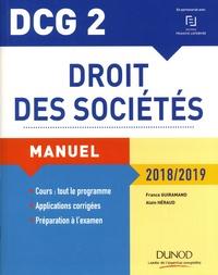 France Guiramand et Alain Héraud - Droit des sociétés DCG 2 - Manuel.