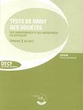 France Guiramand - Test de droit des sociétés, des groupements et de l'entreprise en difficulté, Epreuve 1 du DECF et du DESCF.