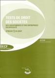 France Guiramand - Tests de droit des sociétés - Epreuve 1 du DECF et du DESCF.