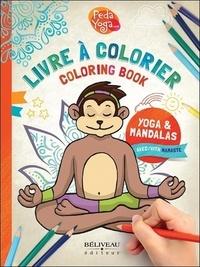 France Hutchison et Irène Lumineau - Livre à colorier Yoga & Mandala.