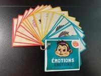 France Hutchison et Irène Lumineau - Mini-cartes de postures et émotions - 35 cartes de postures et 20 cartes d'émotions.