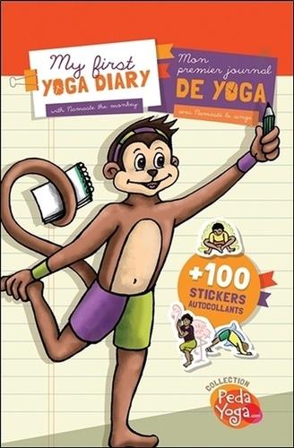 France Hutchison et Irène Lumineau - Mon premier journal de yoga - Avec 100 stickers autocollants.