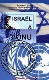 France-Israël et Charles Meyer - Israël et l'ONU.
