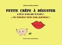 Marie-Pierre Ianiro - Petite crêpe à déguster.
