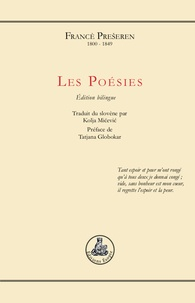 Francè Preseren - Les poésies.