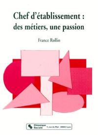 Accentsonline.fr Chef d'établissement - Des métiers, une passion Image