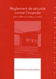 France-Sélection - Règlement de sécurité contre l'incendie relatif aux établissements recevant du public - Dispositions particulières Types J à Y 1re à 4e catégories.