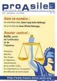 Jean-Loup Kuhn Delforge et Jean-Michel Belorgey - Pro Asile N° 12, Juin 2005 : Asile, sortir de l'arbitraire et de l'injustice.