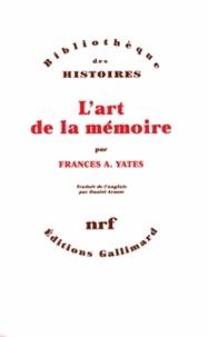Frances Yates - L'art de la mémoire.
