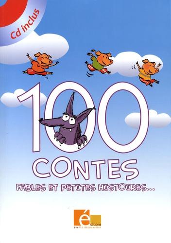 Francesca Carabelli et Flavia Sorrentino - 100 contes - Fables et petites histoires.... 1 CD audio