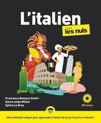 Francesca Romana Onofri et Karen-Antje Möller - L'italien pour les nuls. 1 CD audio