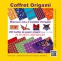 Francesco Decio et Vanda Battaglia - Coffret origami jaune - 4 modèles avec guide d'instructions, 200 feuilles de papier origami, 10 motifs japonais.