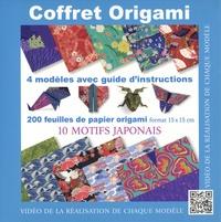 Francesco Decio et Vanda Battaglia - Coffret Origami - 4 modèles avec guide d'instruction, 200 feuilles de papier origami, 10 motifs japonais.