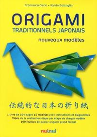 Francesco Decio et Vanda Battaglia - Origami traditionnels japonais - Nouveaux modèles.