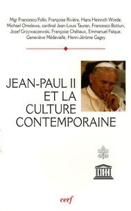 """Francesco Follo et Françoise Rivière - Jean Paul II et la culture contemporaine - Actes du colloque """"Culture, raison et liberté""""."""