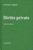 Francesco Galgano - Diritto privato.