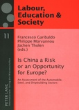 Francesco Garibaldo et Philippe Morvannou - Is China a Risk or an Opportunity for Europe? - An Assessment of the Automobile, Steel and Shipbuilding Sectors.
