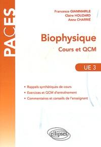 Biophysique- Cours et QCM UE3 - Francesco Giammarile pdf epub