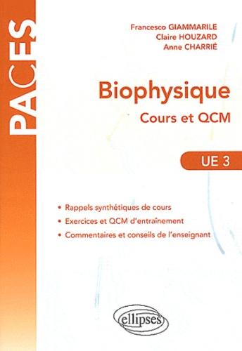 Francesco Giammarile et Claire Houzard - Biophysique - Cours et QCM UE3.