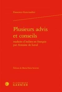 Plusieurs advis et conseils traduits ditalien en français par Antoine de Laval.pdf