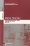Francesco Logozzo - Static Analysis.