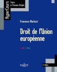 Droit de l'Union européenne - Francesco Martucci pdf epub