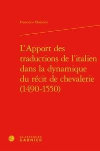 Francesco Montorsi - L'apport traduction de l'itatlien.