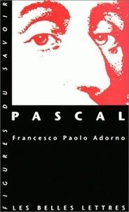Francesco-Paolo Adorno - Pascal.