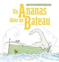 Francesco Pittau - Un ananas dans un bateau - L'alphabet par Francesco Pittau.