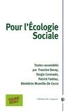 Francine Bavay et Sergio Coronado - Pour l'écologie sociale.