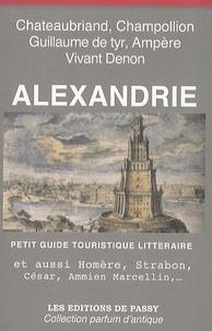 Francine Girond Ferry - Alexandrie - Petit guide touristique littéraire.