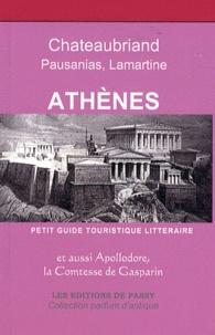 Francine Girond-Ferry - Athènes - Petit guide touristique littéraire.