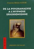 Francine-Hélène Samak - De la psychanalyse à l'hypnose Ericksonienne.