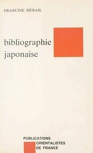 Francine Hérail - Éléments de bibliographie japonaise - Ouvrages traduits du japonais, études en langues occidentales.