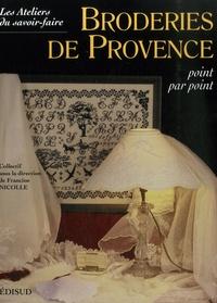 Francine Nicolle - Broderies de Provence - Point par point.