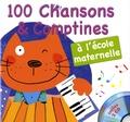 Francine Pohl et Gérard Dalton - 100 chansons et comptines à l'école maternelle. 2 CD audio