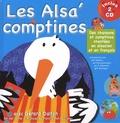 Francine Pohl-Guillerey et Gérard Dalton - Les Alsa'comptines - Des chansons et comptines chantées en alsacien et en français. 2 CD audio