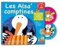 Francine Pohl et Gérard Dalton - Les Alsa'Comptines. 2 CD audio