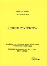 Deedr.fr Divorce et Médiation - La médiation familiale dans la nouvelle procédure de divorce Comment visualiser, en six étapes, son divorce Image